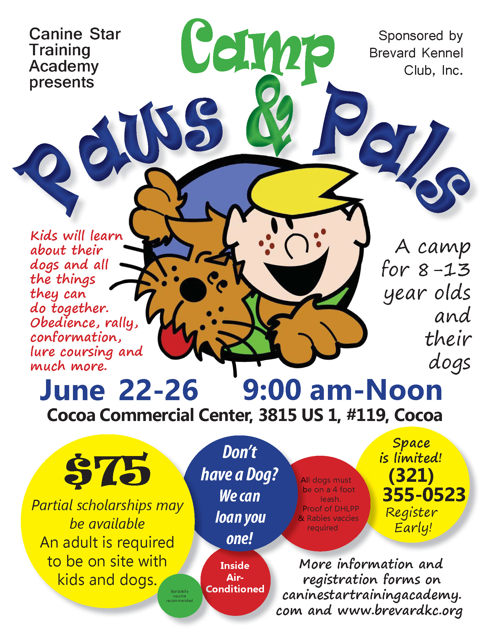 Camp Paws and Pals 2020